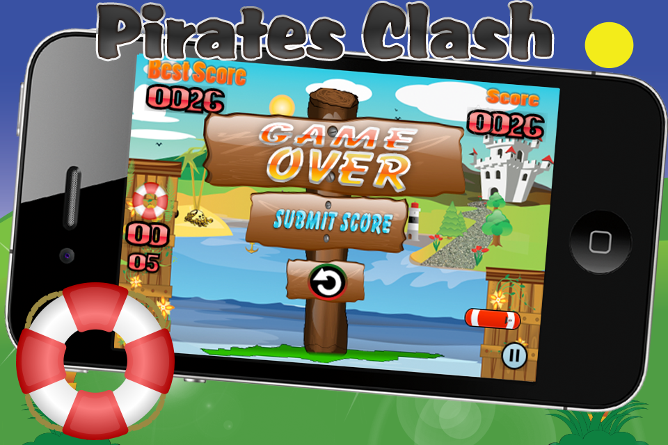 Screenshot Pirates Clash